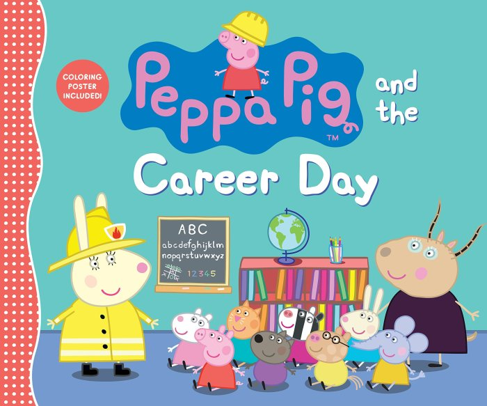 pepper pig career day